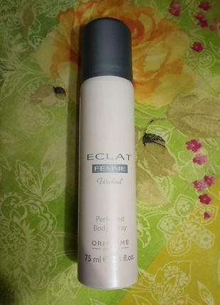 Парфюмированный дезодорант спрей для женщин eclat weekend oriflame
