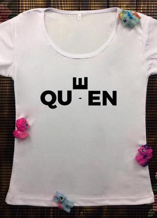 Женские футболки с принтом - арт
