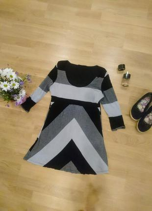 Красивая туника-платье