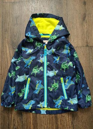 Ветровка, легкая курточка, куртка дино, динозавры