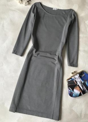 Тёплое платье рукава вискоза