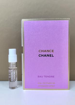 Chanel chance eau tendre парфюмированная вода пробник