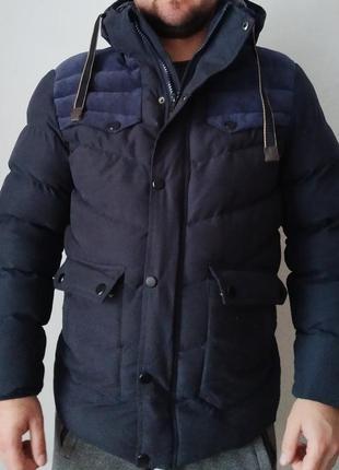 Пуховик мужской куртка парка зимняя