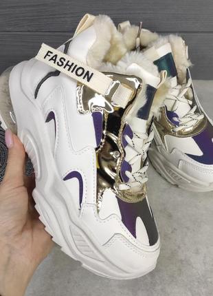 Женские утеплённые кроссовки 38-41 распродажа
