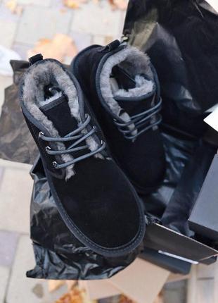 Ugg neumel black угги мужские наложенный платёж