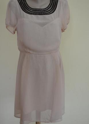 Очень красивое платье из шифона вискоза