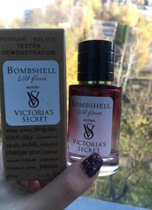 Victoria's secret bombshell wild flower женский, 60 мл