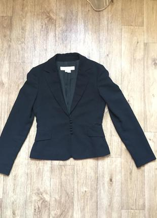 Пиджак zara,чёрный пиджак,силуэтный пиджак
