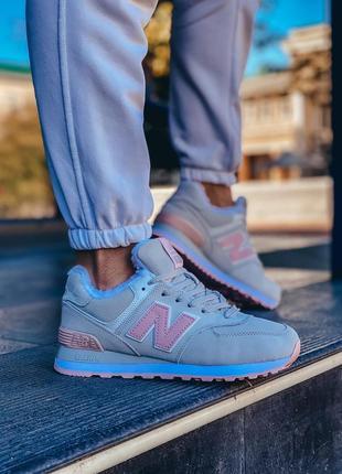 Шикарные женские зимние ботинки топ качество new balance ❄️🥭