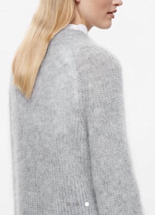 Cos мохер шерсть!!!качественный классный свитер оригинал (like uniqlo max mara)