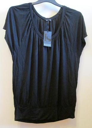 Актуальная удобная блуза футболка laura scott натуральная размер 16