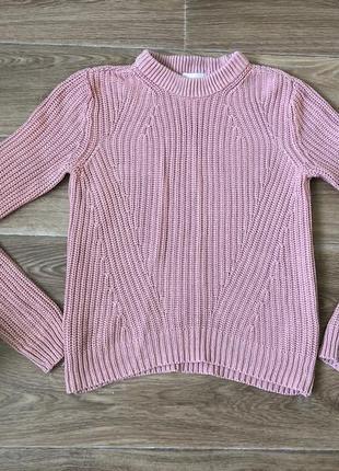 Вязаный свитер hm
