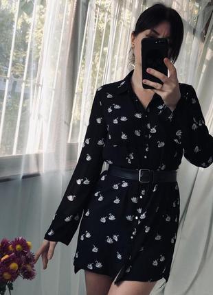 Платье-рубашка 🔥