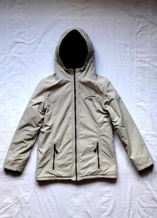 Бежевая мужская куртка free spirit
