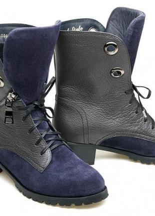 Ботинки женские модель номер:566.