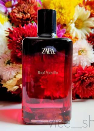 Zara red vanilla 200 мл духи парфюмерия туалетная вода оригинал