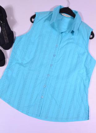 Бирюзовая рубашка joie de vivre