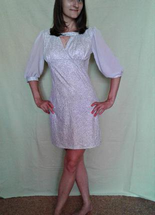 Красивое легкое нарядно-коктейльное платье