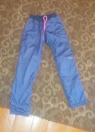 Спортивные штаны зимние