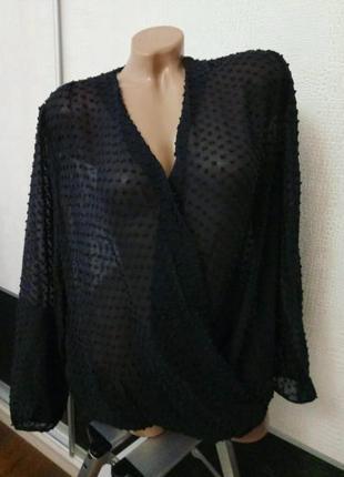 Шелковая накидка блуза boden