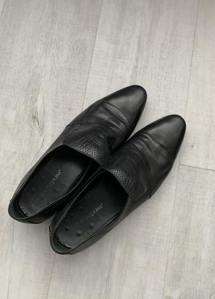 Туфли классика кожа