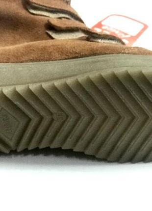 Замшевые зимние ботиночки котофей4 фото