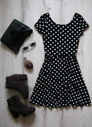 Платье в горошек new look