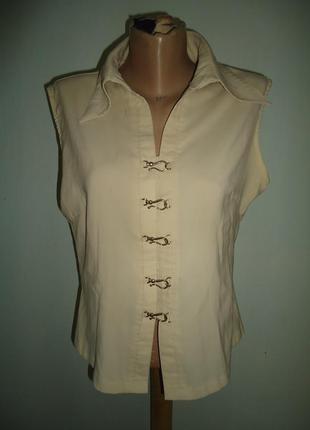 Красивая нарядная блуза рубашка кофта р. 48-50