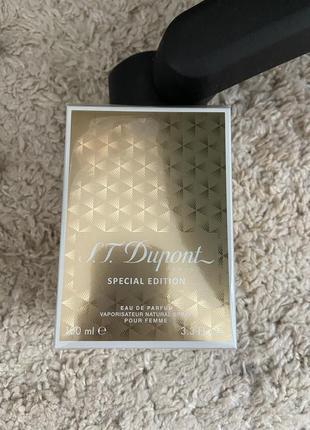 Парфюмировання вода dupont 100 ml