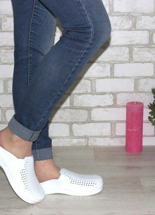 Кроксы  / белые кроксы  / модные кроксы  / сабо
