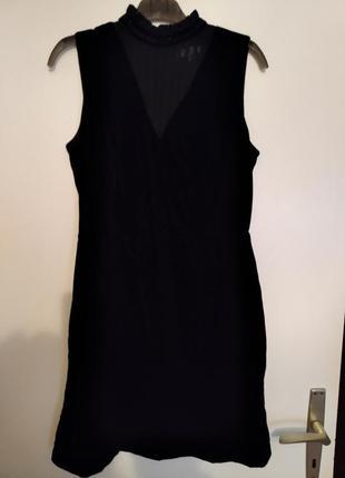 Стильное модное бархатное платье