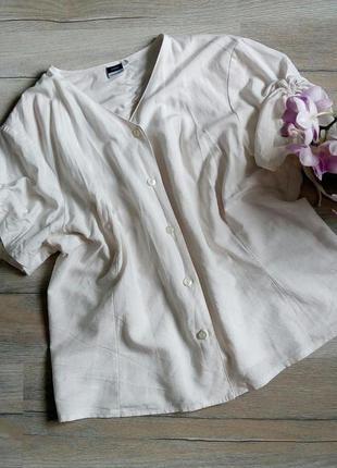 Літній віскозно-льняний піджак, жакет, великий розмір, большой размер
