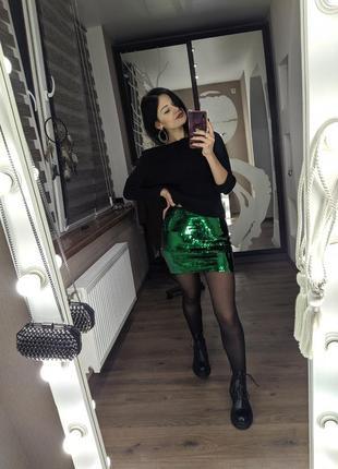 Юбка в паетку, спідниця, юбка