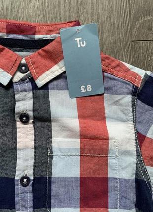 Оригинальная детская рубашка фирмы tu