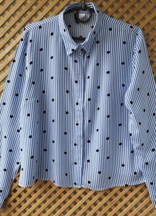 Легкая хлопковая (вискоза) рубашечка