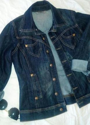 Джинсовый пиджак, курточка