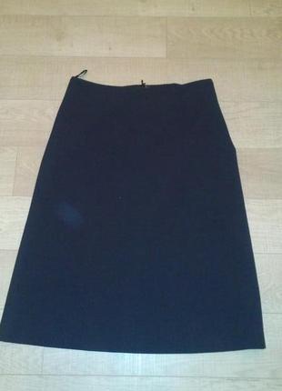 Стильная осенняя юбка миди mexx