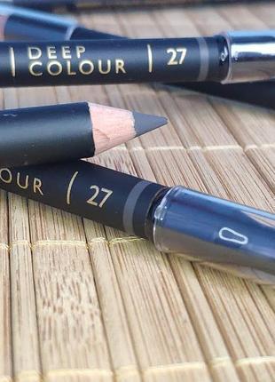 Акция! стойкий карандаш для глаз deep colour № 27 - темно-серый