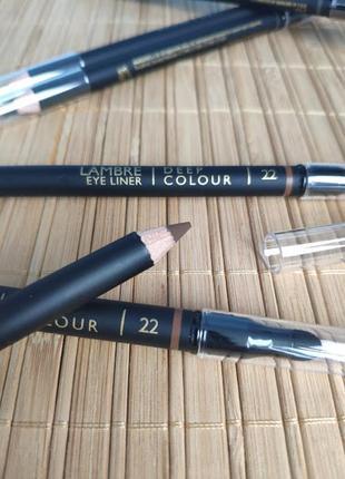 Акция! карандаш для глаз deep colour № 22 - шоколадно-коричневый