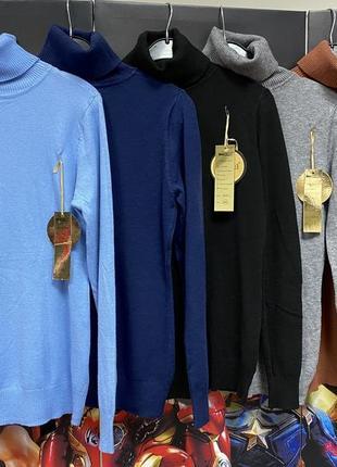 Гольф, свитер средней плотности, мягкий, не колючий. в составе шерсть и хлопок