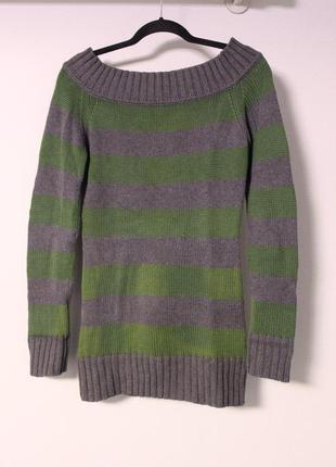 Удлиненный свитер.