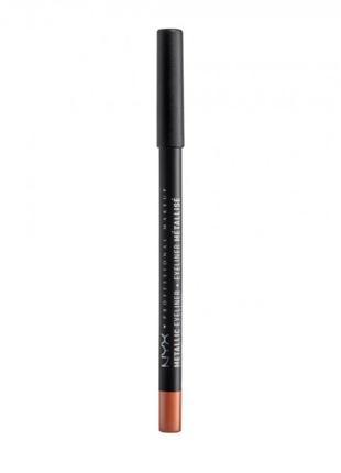 Карандаш для глаз nyx professional makeup professional metallic eyeliner