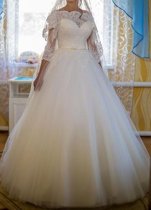 Пишна весільна сукня ( свадебное платье + подарок) + подарунок