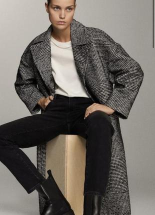 Massimo dutti новое пальто из текущей коллекции оригинал размер s😊