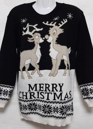 🦋 чудесный рождественский свитер