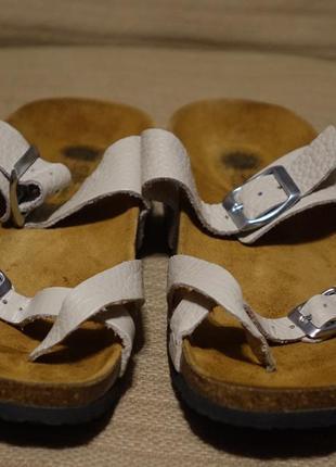 Открытые фирменные ортопедические шлепанцы sune island испания 41 р.