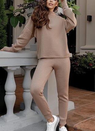 Шикарный костюм штаны свитер ангора