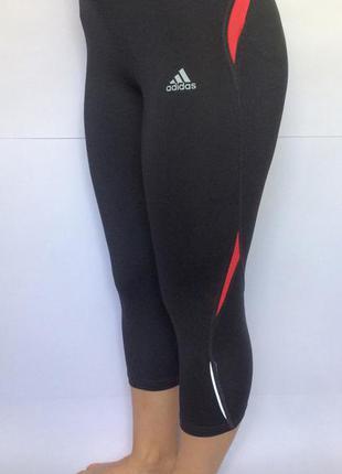 Спортивные капри adidas бриджи лосины легинсы спорт фитнес