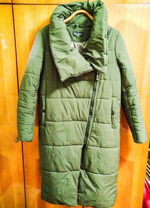Зимнее пальто - пуховик для беременных