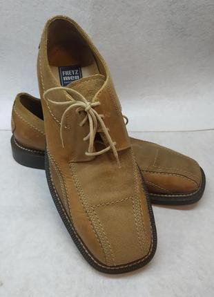 Кожаные туфли business,42-43 размер,27,5-28 см по стельке